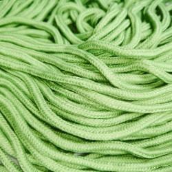 Шнур одежный  с наполнителем 6 мм Зеленый