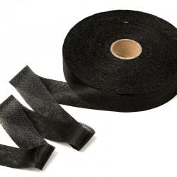 Лента нитепрошивная клеевая 30мм Черный