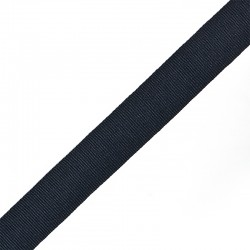 Лента репсовая 20 мм Тёмно-синий