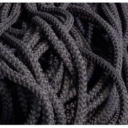 Шнур одёжный с наполнителем 6 мм Серый