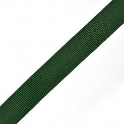 Лента репсовая 20 мм Тёмно-зеленый