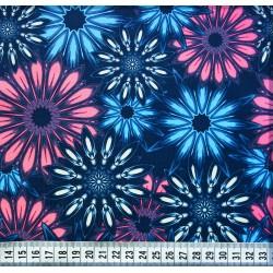 Мембранная ткань 3К/3К Лилии голубой