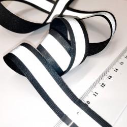 Лента текстильная 20 мм со светоотражающей полосой