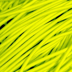 Резинка-шнур 3 мм Желто-салатовый