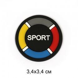 Аппликация пришивная SPORT 3,4х3,4см Спасательный круг