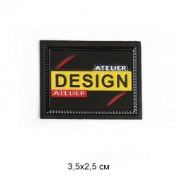 Аппликация пришивная ATELIER 3,5х2,5см